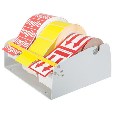 Label Dispenser Bench Wall Mounted 25mm Or 75mm Core